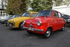 Automobili classiche polacche Immagini Stock Libere da Diritti