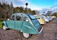 Automobili d'annata della Francia Immagine Stock