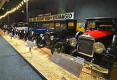 Automobili d'annata nel museo nazionale dell'automobile, Reno, Nevada Immagine Stock