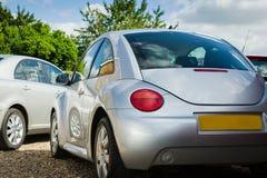 Automobili d'argento Fotografie Stock Libere da Diritti
