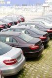 Automobili da vendere Fotografia Stock Libera da Diritti