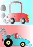 Automobili del fumetto Fotografia Stock
