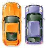 Automobili del Giappone di vettore. Fotografie Stock