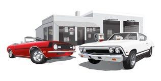 Automobili del muscolo Fotografie Stock