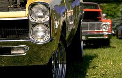 Automobili del muscolo Fotografia Stock Libera da Diritti