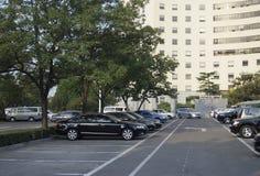Automobili del parcheggio Immagine Stock Libera da Diritti