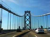 Automobili del ponte di San Francisco Highway Traffic Oakland Bay Fotografia Stock Libera da Diritti