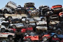 Automobili del residuo Immagine Stock