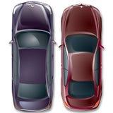 Automobili del tedesco di vettore. Fotografia Stock