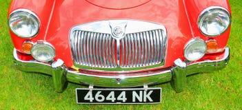 Automobili dell'annata di MG Fotografia Stock