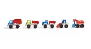 Automobili dell'azienda agricola del giocattolo Fotografia Stock
