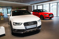 Automobili di Audi da vendere Immagine Stock