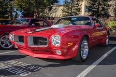Automobili di Blackhawk e caffè Danville Ca Fotografia Stock