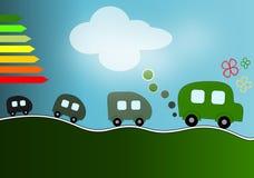 Automobili di Eco Immagini Stock