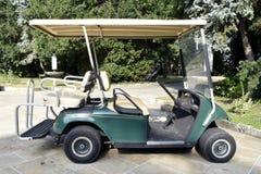 Automobili di golf fotografia stock libera da diritti