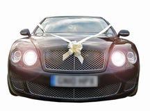 Automobili di lusso di cerimonia nuziale di prestigio Fotografie Stock Libere da Diritti