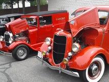 Automobili di Myssle retro Immagini Stock Libere da Diritti