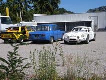 Automobili di Renault Fotografie Stock