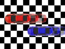 Automobili di scanalatura Fotografia Stock Libera da Diritti