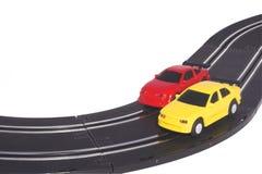 Automobili di scanalatura Fotografia Stock
