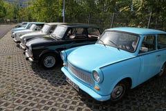 Automobili di Trabant Fotografia Stock