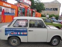 Automobili di Trabi, Berlino, Germania immagine stock