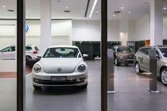 Automobili di Volkswagen da vendere Immagine Stock Libera da Diritti