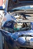 Automobili dopo l'arresto Immagine Stock Libera da Diritti
