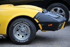 Automobili e bici americane Fotografie Stock Libere da Diritti