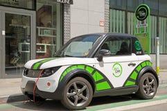 Automobili elettriche di Bruxelles Immagine Stock Libera da Diritti