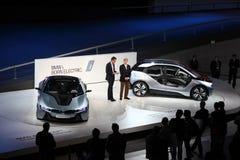 Automobili elettriche di concetto di BMW a IAA Fotografie Stock