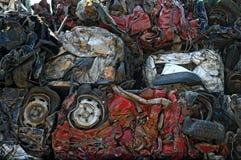 Automobili fracassate Fotografia Stock Libera da Diritti