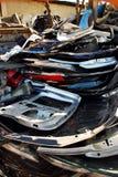 Automobili fracassate Fotografie Stock Libere da Diritti