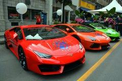Automobili Lamborghini 免版税库存图片