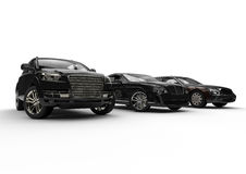 Automobili lussuose royalty illustrazione gratis