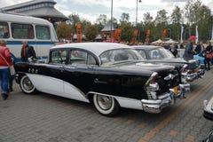 Automobili Myslowice Polonia 2015r di raduno VI Immagini Stock