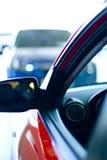 Automobili nell'esposizione di vendite Fotografia Stock