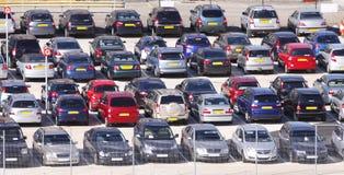 Automobili parcheggiate fotografia stock libera da diritti