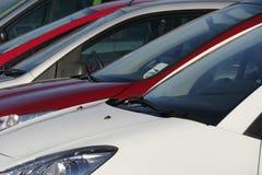 Automobili parcheggiate Immagini Stock