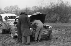 Automobili secondarie di Morris, Inghilterra Immagine Stock Libera da Diritti