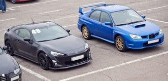 Automobili sportive immagini stock