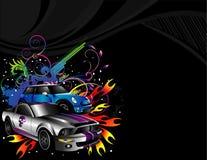 Automobili sportive   Fotografia Stock Libera da Diritti