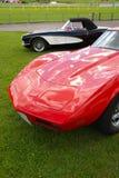 Automobili sportive americane Fotografia Stock Libera da Diritti