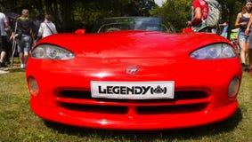 Automobili sportive di lusso, vipera di Dodge Fotografia Stock