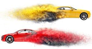 Automobili sportive FX royalty illustrazione gratis