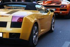 Automobili sportive italiane, lamborghini immagini stock