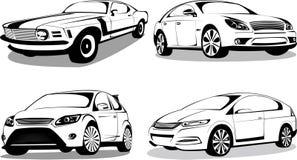 Automobili sportive prestigiose Fotografia Stock