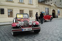 Automobili storiche Fotografia Stock Libera da Diritti