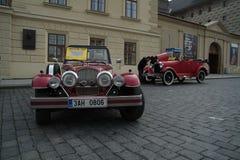 Automobili storiche Immagini Stock Libere da Diritti