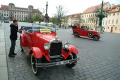Automobili storiche Fotografie Stock